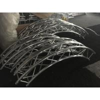 Diameter Customized Circular Lighting Truss , Strong / Durable Curved Truss System Manufactures