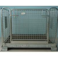 Huge Metal Security Cage Mesh Box Pallet Metallic Q235 For Store And Storage Manufactures