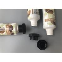 China Aluminum Plastic Tube 25mm Shea Butter Hand Cream Glossy With Octagonal Cap 30g on sale