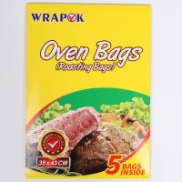 Clear Plastic Bread Cooking Turkey Oven Bag Eco Friendly Heat Resistant Manufactures