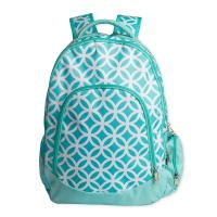 Green Kids School Book Bags / Laptop School Bags For High School Students Manufactures