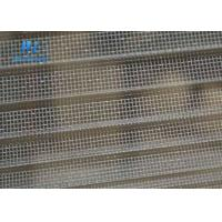 China Grey Retractable Insect Screen , Window / Door Use Concertina Fly Screens on sale