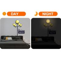 Newest design LED night lamp with wall paper Manufactures