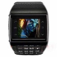 ET-3 Dual SIM Watch Mobile Phones with Quadband Multimedia Bluetooth Black Manufactures