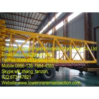 structural steel Tower Crane Mast Section Safety with Plated type Manufactures