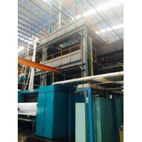SMS PP Spunbonded Nonwoven Machinery , 3200mm , 4000mm Geotextile Production Line Manufactures
