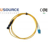 MTRJ to LC Singlemode Duplex Fiber Optical Patchcord in Telecommunication Equipment Manufactures