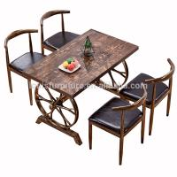 China Commercial Modern Metal Dining Chairs , Dining Table Chairs Metal Legs on sale