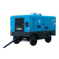 Electric Portable Trailer Air Compressor , Rock Drill High Pressure Air Compressor Manufactures