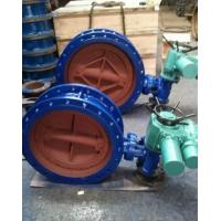 RF Flanged Connection Large Diameter Eccentric Butterfly Valve Manufactures