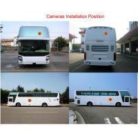 2D HD Bus Truck Car Surround Camera System With Driving Video Recording / Super Wide Fish Eye,universal model Manufactures