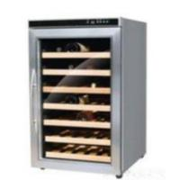 Quality 40 Bottles 110l Three-layer Glass Door Single Tem  Wine Cooler for sale