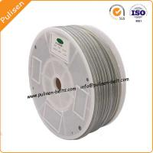 Quality Polyurethane Green Rough Round Belt for Ceramic glazing line round belt V-belt for sale