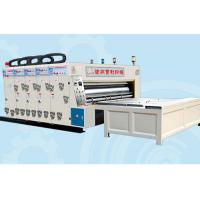 Semi automatic four-color ink printing and slotting machine Manufactures