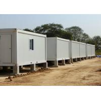 China Safe Stable Metal Storage Container Homes 15mm Plywood 6000mm * 3000mm * 3000mm on sale