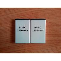 China High Quality Replacement BL-5C 1350mAh Mobile Phone Battery for NOKIA 1100,1110 on sale