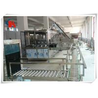Touch Screen Complete Bottled Water Production Lines 50 - 180 PCS/H With Water Treatment Manufactures