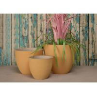 China SPW Material Desk Indoor Decorative Planters Classic Color Sculpture Finished on sale