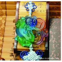 China feng shui car crystal ornaments--chinese dragon-Pi Xiu on sale