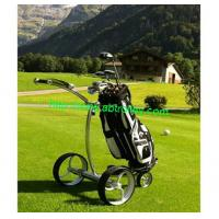 China New theory golf push cart Germany golf cart first class electrical golf pushcart on sale