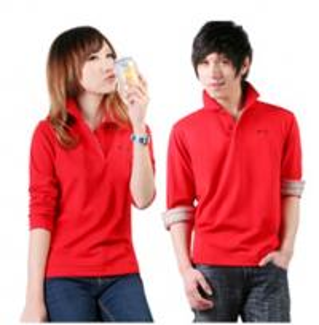 China EXPORT CUSTOM LOGO lovers long sleeve polyster T SHIRT 100%COTTON T-shirt on sale