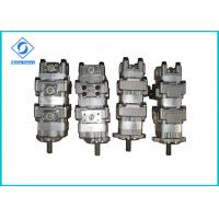 Oil Rotary Gear Pump , Low Noise Industrial Gear Pumps For Construction Machinery Manufactures