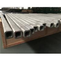 China Seamless Stainless Steel Square Tube 2000-12000mm 304 316 Material on sale