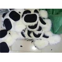 China Long Hair Genuine Sheepskin Car Wash Mitt For Auto Care / Detailing Wash on sale