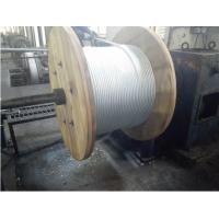 Galvanized Verhead Ground Wire Strand High Tensile Strength For Gabion Mesh Manufactures