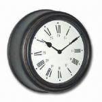 Vintage-designed 18-inch Plastic Wall Clock, Measures 45 x 14.5 x 45cm Manufactures