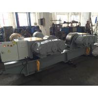 100T Heavy Duty Adjustable Tank Turning Rolls With 6~60m/h Wheel Velocity Manufactures