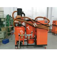 Grit Sandblaster Vacuum System Automatic Abrasive Recycling Dust free Manufactures