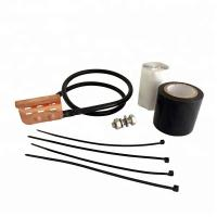 China Standard Coaxial Cable Grounding Kit For 1/4 3/8 Inch Corrugated Braided Coaxial Cable on sale