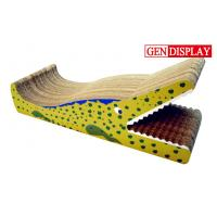 Chair Cardboard Cat Scratcher , Corrugated Cardboard Cat Scratchers Manufactures