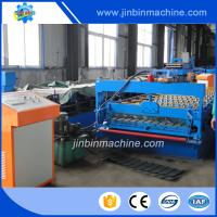 Metal strip automatic roofing steel panel roll forming machine Manufactures