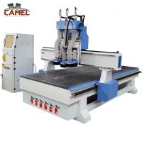 CA-1325 Professional cnc wood funiture 1325 /three pneumatic spindle cnc router Manufactures