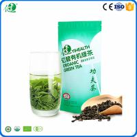 Health and wellness products chinese organic green tea packaged with bags per 40 g Manufactures