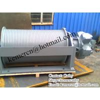 custom built hydraulic winch (13 ton) Manufactures