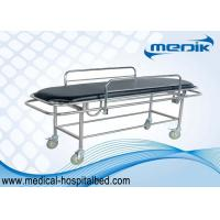 Stainless Steel  Patient Transfer Trolley For Handicapped Medical Furniture Manufactures