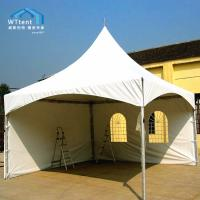 Durable Spring Top Marquee Flame Retardant PVC Sidewalls And Windows Manufactures