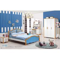 Buy cheap Mediterranean style latest wooden bed designs kids bedroom furniture 6603 from wholesalers