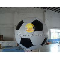 Huge Filled Helium Advertising Sport Balloons for sport event, Soccer Ball Balloon Manufactures