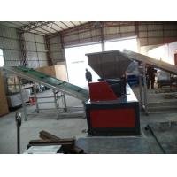 plastic shredder recycling machine / used battery shredder machine Manufactures