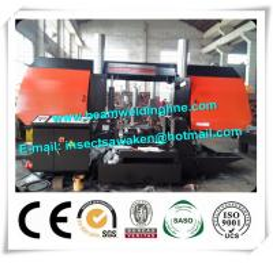 China CNC Metal Cutting Band Saw Machine , Pipe Bandsaw Cutting Machine on sale