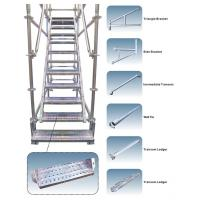 Customized Galvanized Steel Scaffolding Powder - Coated For Walking Stair Manufactures
