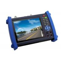 7Inch HD SDI CCTV Tester , Digital Multimeter TDR Cable Tester Manufactures