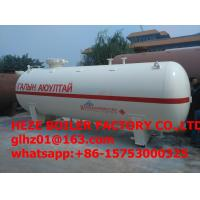 20,000L China hot selling good price Q345R steel LPG Storage Tanks with lpg gas filling station Manufactures