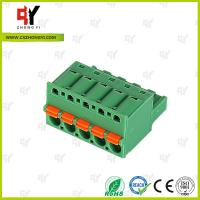 Quality 10A - 15A Pluggable Terminal Block Universal Connector Wire Range 28-12 AWG for sale