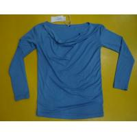 Fitness Women'S Modal Tops , Fashion Women'S V Neck Long Sleeve T Shirts Manufactures