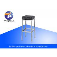 Durable Leisure Outdoor Wicker Garden Chair Rattan With Anodizing Shiny Manufactures